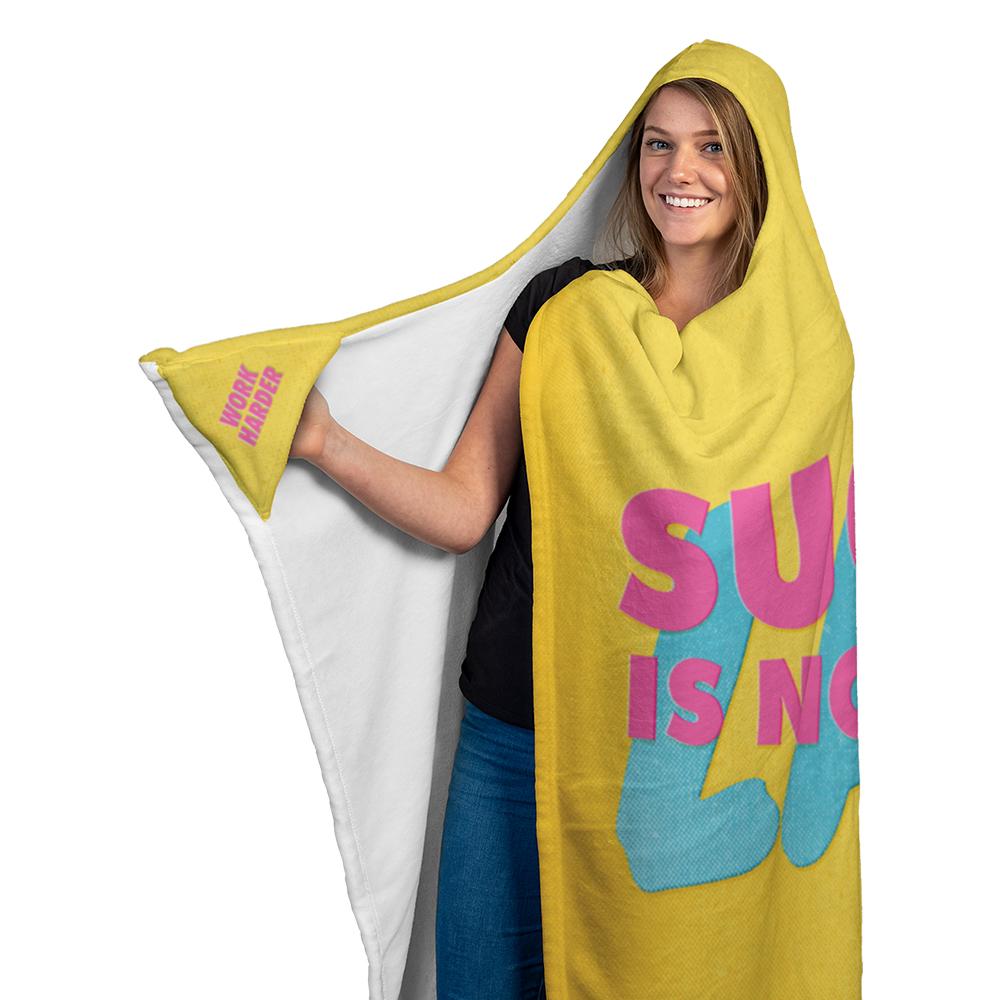 kind of hoodie blanket